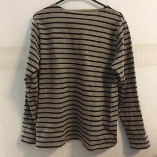 ムジルシリョウヒン(MUJI (無印良品))のボーダーカットソー (Tシャツ/カットソー(七分/長袖))