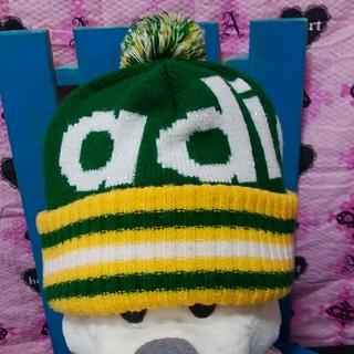アディダス(adidas)のアディダスニットキャップ(ニット帽/ビーニー)