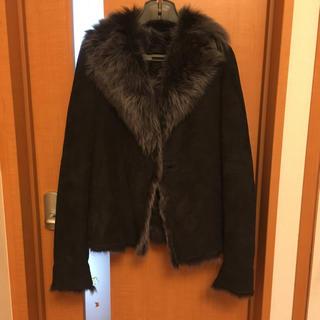 ヨンドシー(4℃)の4℃ ムートン コート 30th anniversary M 羊毛 イタリア製 (毛皮/ファーコート)