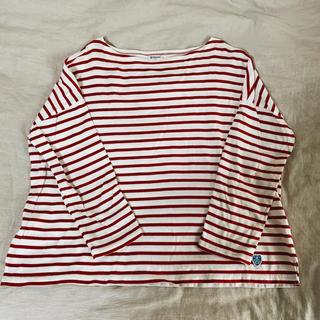 497e8c01b73e4a オーシバル(ORCIVAL)のオーシバル ORCIVAL ボーダーカットソー(Tシャツ(長袖/七
