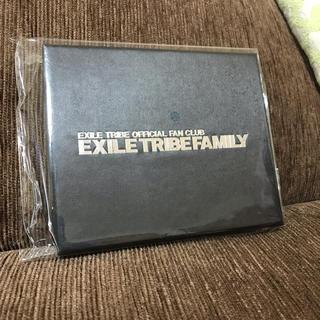エグザイル トライブ(EXILE TRIBE)のEXFAMILY 特典 ウォレットパスケース EXILE(名刺入れ/定期入れ)