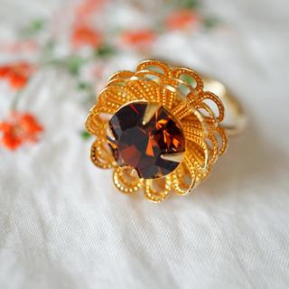 グリさま専用ページ サラコベントリー お花リング2つ(リング(指輪))