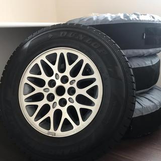 ジープ(Jeep)のXJチェロキー タイヤ・ホイールセット(タイヤカバー付き)(タイヤ・ホイールセット)