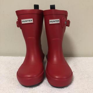 ハンター(HUNTER)のHUNTER 長靴 ブーツ レインブーツ UK7 13cm 正規品 新品 最安値(長靴/レインシューズ)