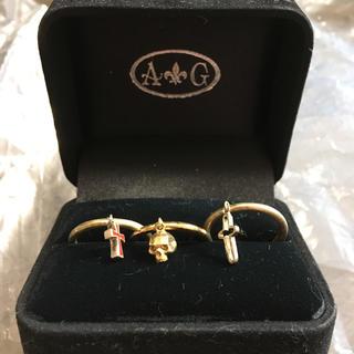 エーアンドジー(A&G)の3連指輪 (リング(指輪))