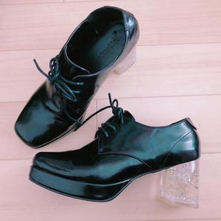 ジュエティ(jouetie)のjouetie クリアヒールのローファー(ローファー/革靴)