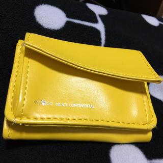 グレースコンチネンタル(GRACE CONTINENTAL)の GRACE CONTINENTAL⭐️幸せを呼ぶ黄色のミニ財布(財布)