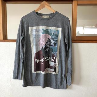 ザラ(ZARA)のザラ  プリントTシャツ(Tシャツ(長袖/七分))