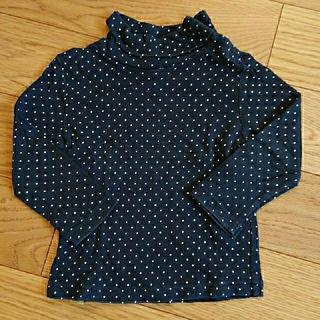 チッカチッカブーンブーン(CHICKA CHICKA BOOM BOOM)のSサイズ(80cm前後) ハイネック長袖Tシャツ(Tシャツ)