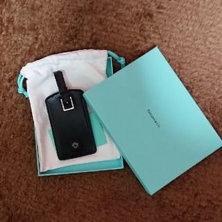 ティファニー(Tiffany & Co.)の新品!Tiffany & Co.☆トランクネームタグ(旅行用品)