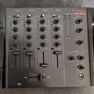 Vestax VMC004-XLu 4ch DJミキサー(DJミキサー)