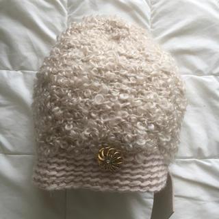 ミナペルホネン(mina perhonen)のhitomi shinoyama×mina perhonenモヘアループニット帽(ニット帽/ビーニー)