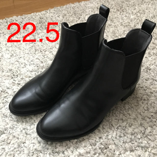 ジーユー(GU)のGU ジーユー サイドゴア ショートブーツ レインシューズ 美品 ブーツ (ブーツ)