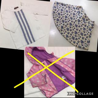 スタジオミニ(STUDIO MINI)の女の子 95 まとめ売り アウター トップス スカート(Tシャツ/カットソー)
