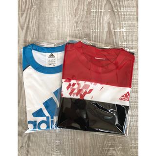 アディダス(adidas)のadidas 2点セット 半袖 130㎝(Tシャツ/カットソー)
