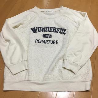 シマムラ(しまむら)の160㎝ レースカットソー(Tシャツ/カットソー)