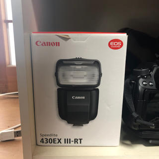 キヤノン(Canon)のCanon Speedlite 430EX III-RT(ストロボ/照明)
