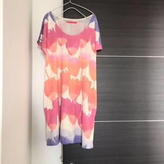 グラニフ(Design Tshirts Store graniph)の専用★graniph チューリップワンピ(ひざ丈ワンピース)