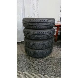 ヨコハマタイヤ ブルーアースA34中古4本セット155/65R14(タイヤ)