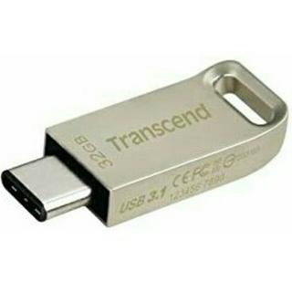 トランセンド(Transcend)のUSBメモリ32G  スマホ・タブレット対応(PC周辺機器)