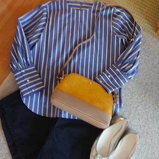 ムジルシリョウヒン(MUJI (無印良品))の美品♪!試着のみ無印良品オーガニックコットンストレッチチノパン クロップドパンツ(カジュアルパンツ)