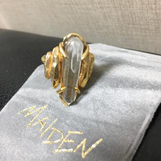 オープニングセレモニー(OPENING CEREMONY)のメイデン maiden ストーン リング 完売 13号(リング(指輪))