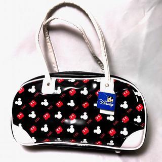 ディズニー(Disney)のミッキーマウス エナメルボストンバッグ かわいいバッグ 未使用保管品(ボストンバッグ)