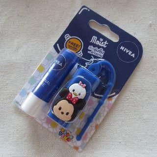 ディズニー(Disney)のNIVEAコラボリップ(ミニー&オリジナルケア)(リップケア/リップクリーム)