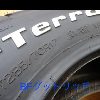 BFグッドリッチ マッドテレーンT/AKM2 イボ付き(タイヤ)