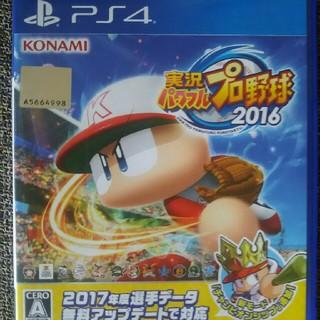 PS4  実況パワフルプロ野球 2016  パワプロ(野球/サッカーゲーム)