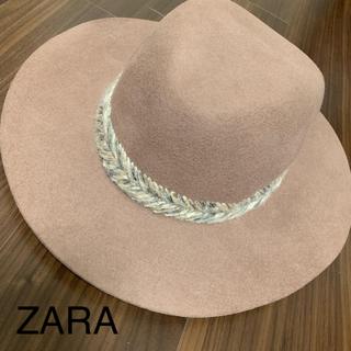 ザラ(ZARA)の新品未使用 ★ ザラ zara ハット 帽子 メンズ レディース M(ハット)