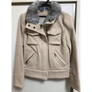 ルカ(LUCA)のLUCA ジャケット 衿ファー取り外し可能です。(ブルゾン)