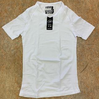 2019新作 アソススキンフォイル サマーベースレイヤー 半袖 2サイズ(L~)(ウエア)