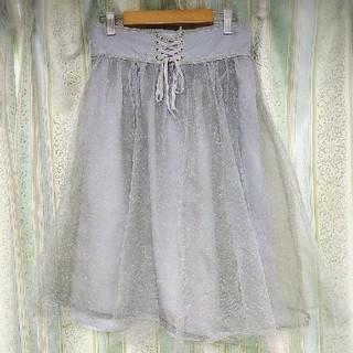 リズリサ(LIZ LISA)のLIZ LISA  チュールスカート(ひざ丈スカート)