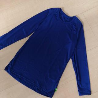 エスエスケイ(SSK)のSSK*野球用アンダーシャツ*ジュニア160*ブルー*(ウェア)