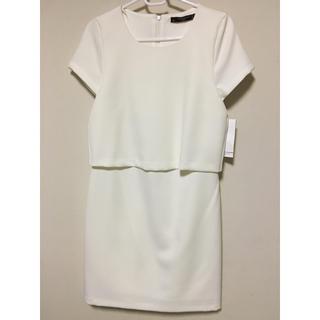 ザラ(ZARA)のZARAのドレス(ミディアムドレス)