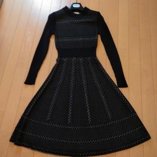アンドクチュール(And Couture)のAnd Couture ニットワンピース サイズ38(ロングワンピース/マキシワンピース)