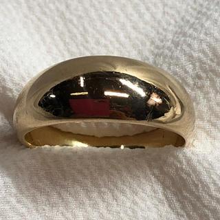 k18甲丸❣️リング 20号(リング(指輪))