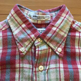 インディヴィジュアライズドシャツ(INDIVIDUALIZED SHIRTS)のINDIVIDUALIZEDSHIRTSネルチェックシャツ(シャツ/ブラウス(長袖/七分))