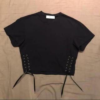 トーガ(TOGA)のtoga レースアップポロシャツ(ポロシャツ)