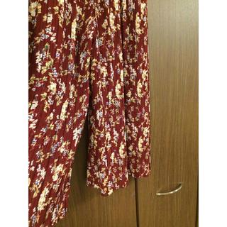 シマムラ(しまむら)のプリーツ ワイドパンツ 未使用タグ付き(カジュアルパンツ)