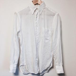 インディヴィジュアライズドシャツ(INDIVIDUALIZED SHIRTS)の限定値下げ INDIVIDUALIZED SHIRTS 美品 BDシャツ 白(シャツ)