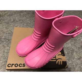 クロックス(crocs)のcrocs レインブーツ georgie II(レインブーツ/長靴)