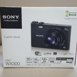ソニー(SONY)のSONY Cyber-shot DSC-WX300 *専用ケース付*(コンパクトデジタルカメラ)