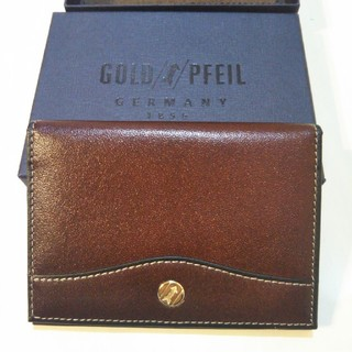 ゴールドファイル(GOLD PFEIL)のゴールドファイル パスケース GP10811  本革 レザー  (名刺入れ/定期入れ)