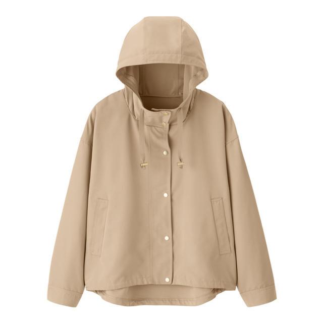 GU(ジーユー)のGUマウンテンパーカーベージュS〜XL新品未使用 メンズのジャケット/アウター(マウンテンパーカー)の商品写真