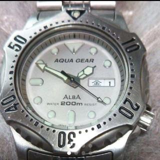 アルバ(ALBA)のSEIKO ALBA アクアギア 腕時計(腕時計(アナログ))