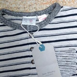 ザラ(ZARA)の新品☆ザラ96センチ ロンT(Tシャツ/カットソー)