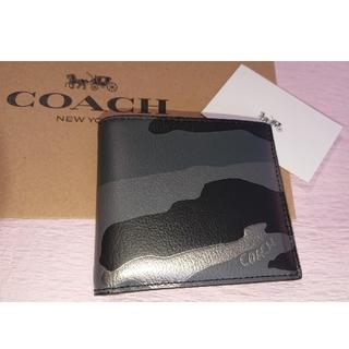 5a5c8c030ff5 コーチ(COACH) 折り財布(メンズ)(カモフラージュ)の通販 20点   コーチ ...