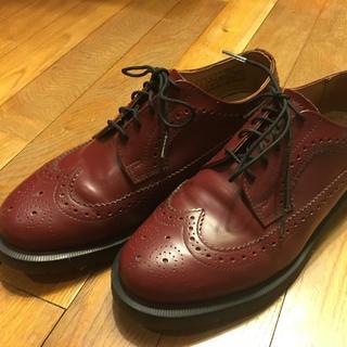 ドクターマーチン 革靴(デッキシューズ)